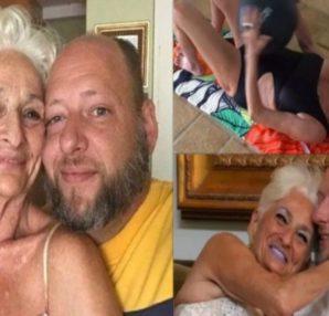 82χρονη γυμνάζεται καθημερινά για να αντέχει στο κρεβάτι με τον 39χρονο σύντροφό της! - Περίεργα-Funny