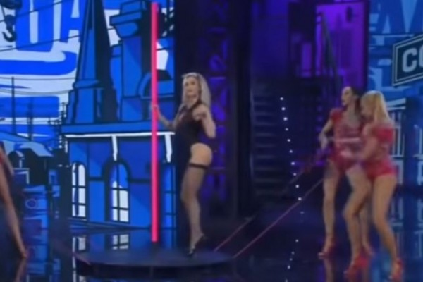 Ο αισθησιακός χορός σε στύλο της Ρίας Αντωνίου που έχει αφήσει ιστορία! - SEX