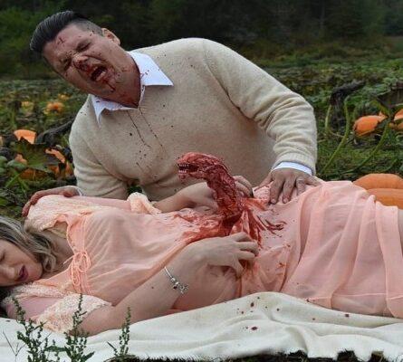Έγκυος γυναίκα «γέννησε» εξωγήινο τέρας στην πιο τρομακτική φωτογράφηση εγκυμοσύνης - Funny-Περίεργα
