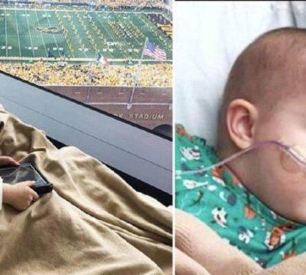 Άρρωστο παιδί σε νοσοκομείο πέταξε από τη χαρά του όταν 70.000 φίλαθλοι γύρισαν προς το μέρος του και το χαιρέτησαν (Video) - Funny-Περίεργα