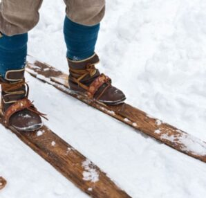 Ανακαλύφθηκαν τα αρχαιότερα ξύλινα πέδιλα σκι 1.300 ετών - Funny-Περίεργα